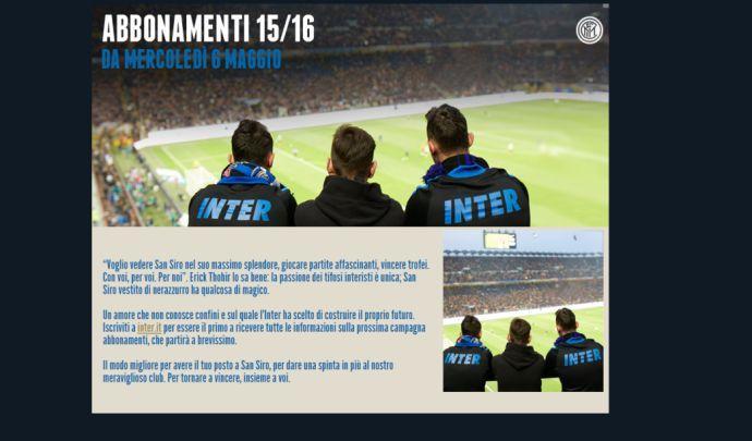 L'Inter fa cassa: finanziaria di Singapore compra tutti i biglietti del 2016-17
