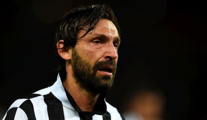 Pirlo: 'La Juve deve comprare un attaccante perché Mandzukic...'