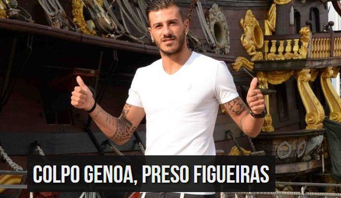 Genoa: scossa l'ora di Diogo Figueiras