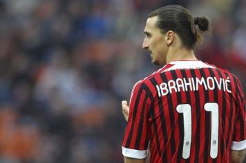 Ibrahimovic Milan maglia