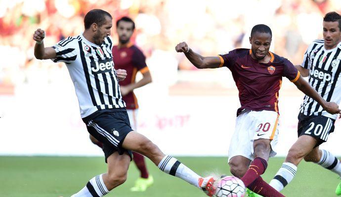 Roma-Juventus 2-1: il tabellino