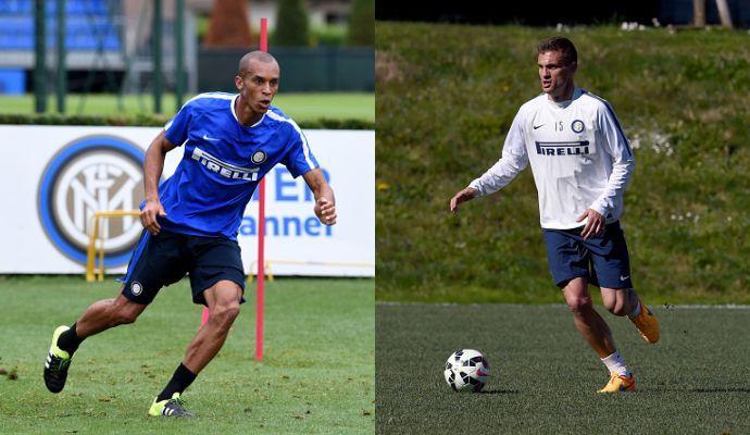 Inter: giallo Miranda, Vidic fuori 5 mesi