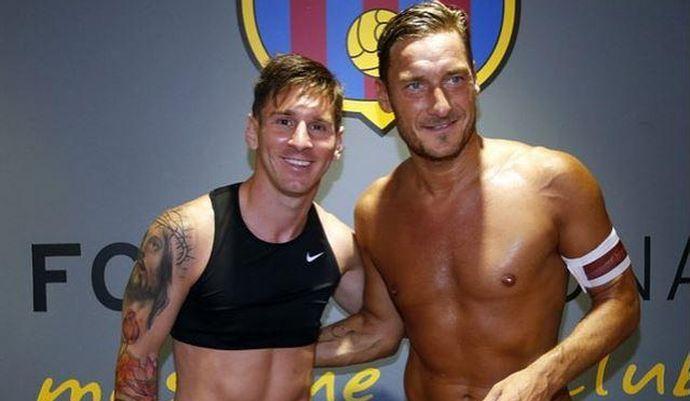 Ronaldo, la Roma risponde così: 'E' Messi il più forte di sempre'