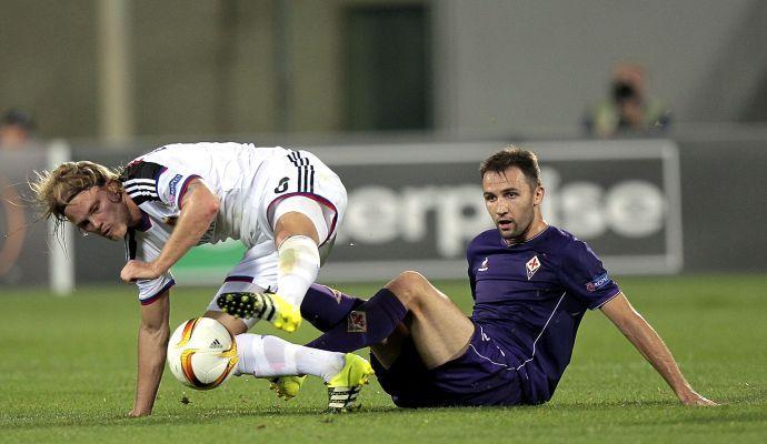 La Fiorentina cade in casa: è 2-1 Basilea