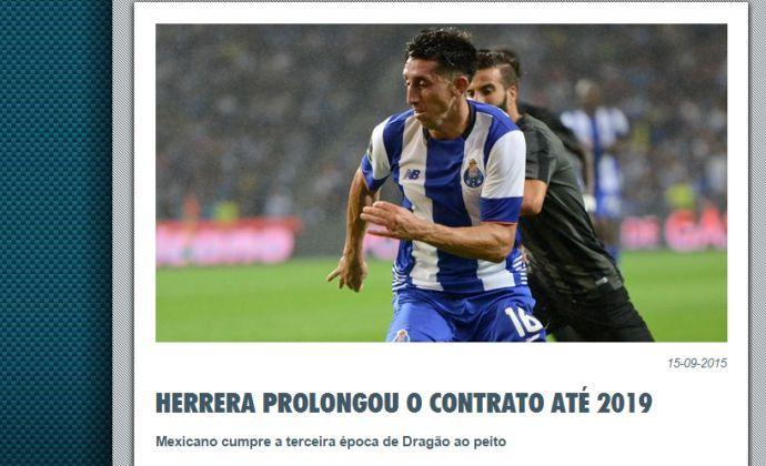 Porto, UFFICIALE: rinnova Herrera