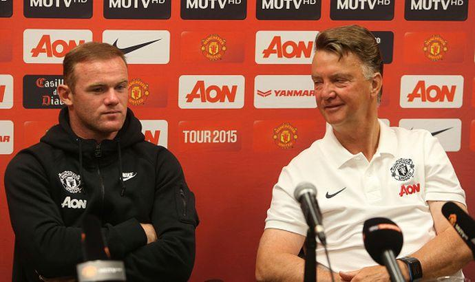 Van Gaal: 'Rooney? Non capisco quello che dice'