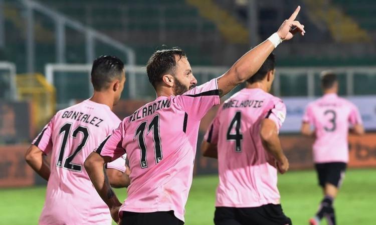 Palermo-Frosinone 4-1: il tabellino