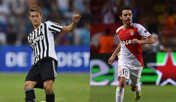 Juve, no al Napoli per Rugani. Il Monaco intanto fissa il prezzo per Bernardo Silva