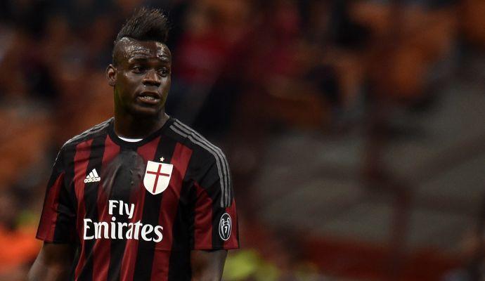 Milan, Balotelli il favorito in attacco