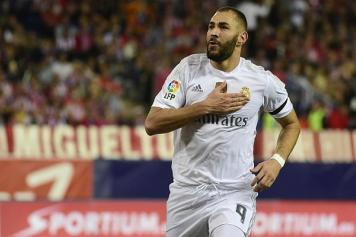 Benzema Real petto