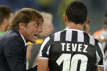 Conte, Tevez
