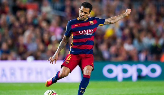 Barcellona, sirene dalla Cina per Dani Alves