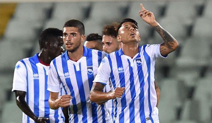 Perugia-Pescara: le formazioni ufficiali