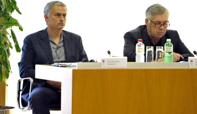 Ancelotti contro Mourinho: 'Dai tempi dell'Inter...' VIDEO