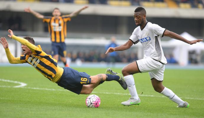 Udinese, Wague: 'Per la salvezza non è ancora finita'