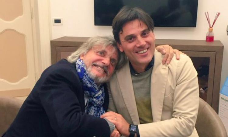 Sampdoria, massima fiducia sulla permanenza di Montella