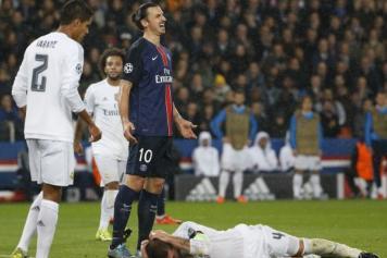 PSG Real Madrid Ibrahimovic