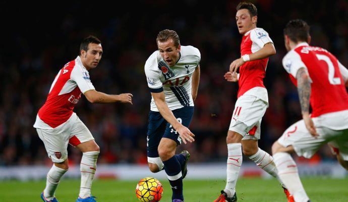 Arsenal fuga mancata: 1-1 col Tottenham