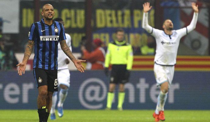 Inter, la folle serata di Felipe Melo
