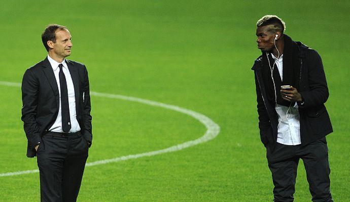 Juventus, la verità su Allegri e Pogba