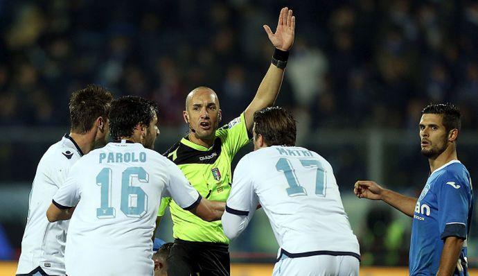 Brescia-Inter: fischia Fabbri