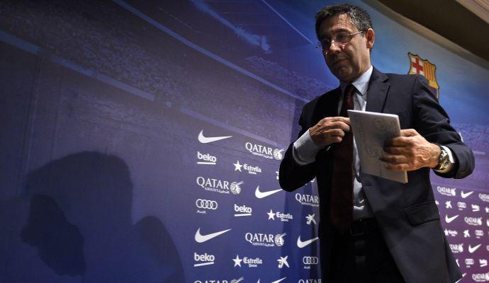 Bartomeu: 'Vidal non parte, che bravo Lautaro. Messi a vita nel Barcellona, porte aperte a Guardiola'