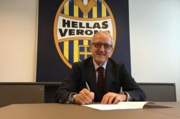 Delneri Verona firma