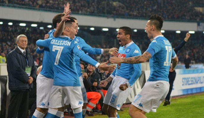 Napoli, il giudice sportivo multa la società