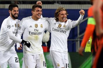 Kovacic Real Madrid esulta