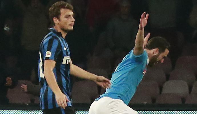 Verso Inter-Napoli: all'andata Higuain un doppio record per Higuain