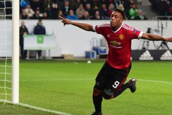 Martial Manchester United esulta