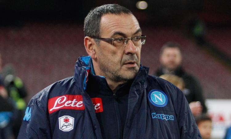 Napoli, i tifosi a Sarri: 'Perché non lo hai tolto?'
