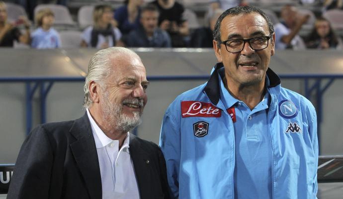 Napoli, Adl e il Sarri-day: 'Auguri amico mio'