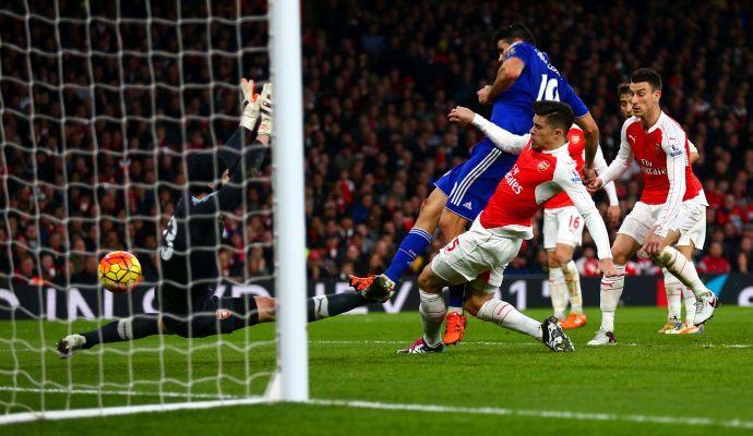 Al Chelsea il derby di Londra: Arsenal ko