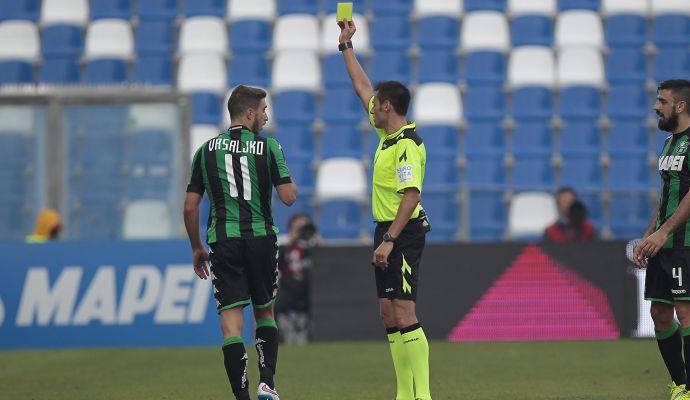 Sassuolo-Sampdoria: la designazione arbitrale