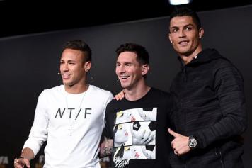 Neymar Messi Ronaldo Pallone d'oro