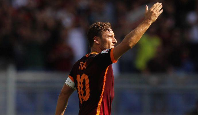VIDEO Roma, per Totti 300 vittorie in Serie A