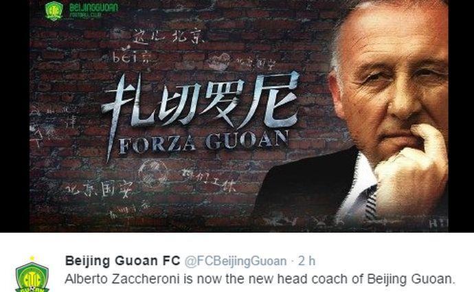 Cina: Scolari batte Zaccheroni, ultimo in classifica