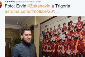 Done Deal Ervin Zukanovic Joins Roma English News Calciomercato Com