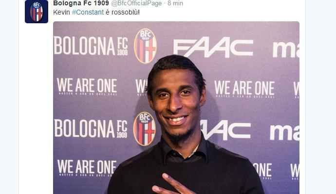Bologna: Constant torna in Francia, ecco dove