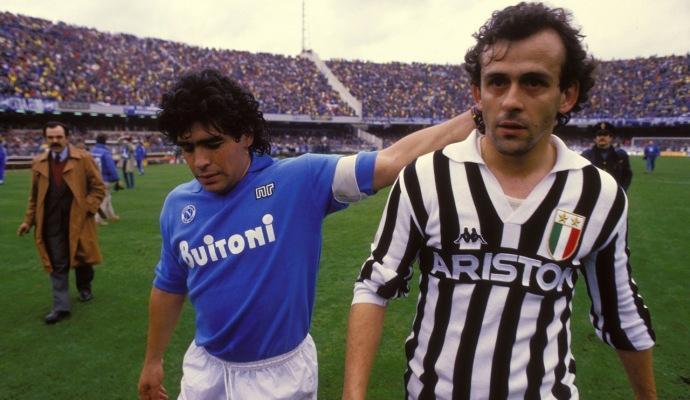 Maradona come Achille, Platini come Ulisse: due maniere differenti di scrivere la Storia