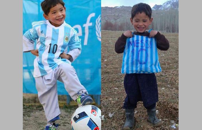 I talebani minacciano e fanno scappare Murtaza, il piccolo fan di Messi