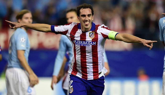Juve: tentativo a vuoto per un difensore dell'Atletico Madrid