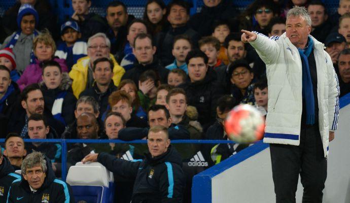 Chelsea, Hiddink: 'Qualcuno si sta risparmiando per gli Europei...'