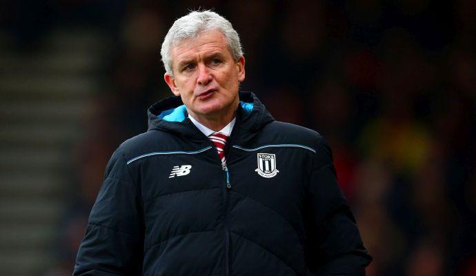 Stoke City: Hughes a rischio