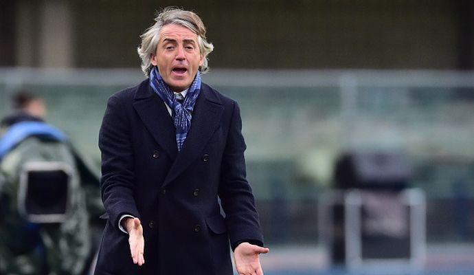 Inter, Mancini: 'Abbiamo dormito in difesa, non possiamo prendere tre gol così. Felipe Melo deve fare di più'