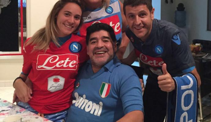 Napoli, Maradona su Sarri ha le idee confuse