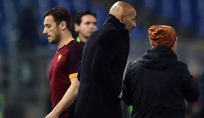 Roma, Spalletti: 'Tratto Totti come un calciatore importante'