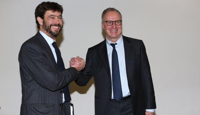 Juve, Agnelli erede di Rummenigge e in trattativa con Elkann: ora cambia tutto
