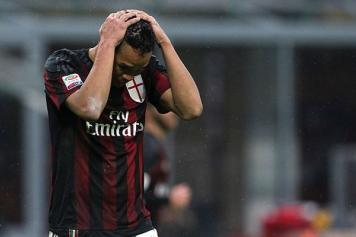 Bacca Milan disperato